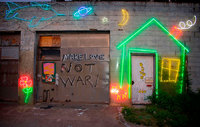 "<span style=""font-size:14px;"">Make Love Not War, Austin</span>"