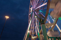 "<span style=""font-size:14px;"">Carnival Ferris Wheel at Night, Texas </span>"