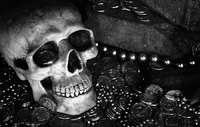 "<span style=""font-size:14px;"">Skull and Money, 6th Street</span>"