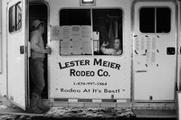 "<span style=""font-size:14px;"">Signing In, Lester Meier Rodeo Company"
