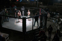 "<span style=""font-size:14px;"">Setting Up the Cage Fighting  Shot"