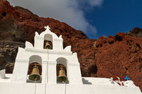 "<span style=""font-size:14px;"">Church Bells, Santorini"