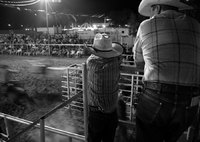 "<span style=""font-size:14px;"">Father and Son at the Rodeo"